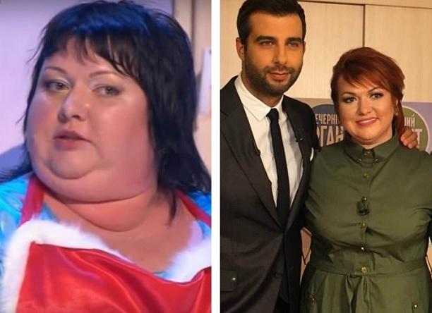 Из Квн Сильно Похудела. Похудев на 84 кг, Ольга Картункова вновь поправилась на самоизоляции и меняет гардероб