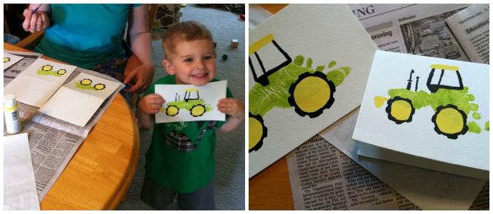 Надписью, открытки для папы руками малыша