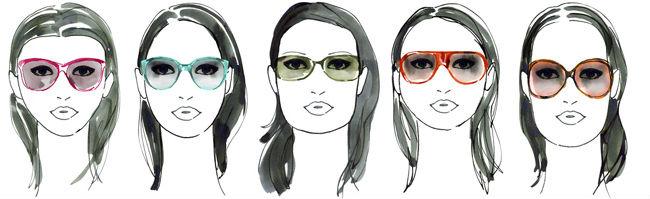 Как очки должны сидеть на лице
