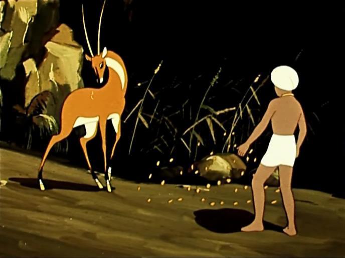 Картинка из золотой антилопы