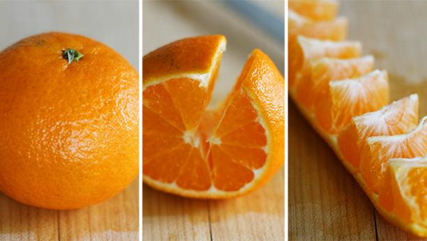 Как почистить апельсин за 5 секунд?