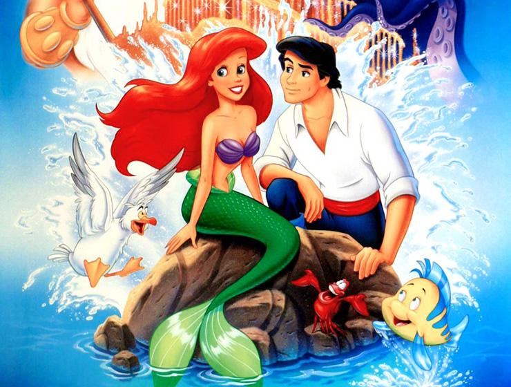 Картинка русалка с принцем