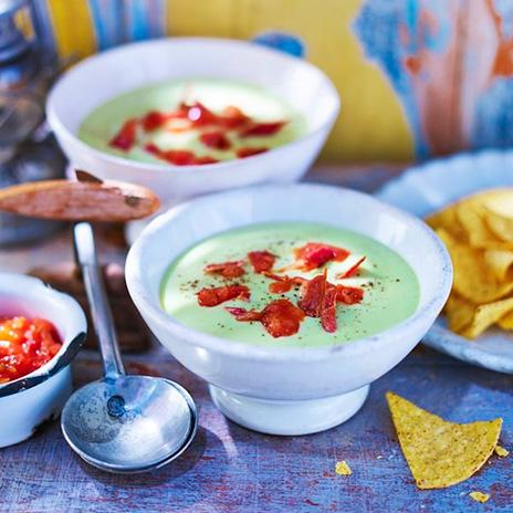 Рецепт супа-пюре савокадо ибеконом