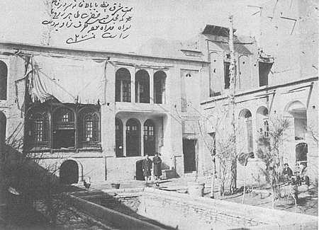 Место, вкотором накануне её казни удерживали Тахире