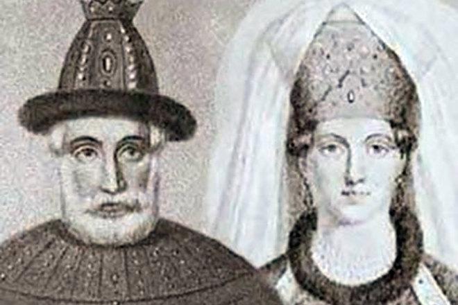 Елена Глинская иВасилий III