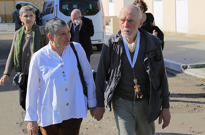 Людмила Улицкая иее муж Андрей Красулин