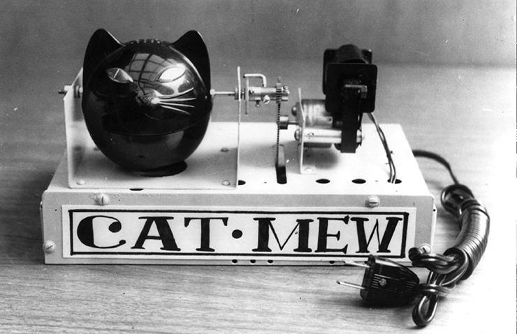 Машинка, которая отпугивала мышей