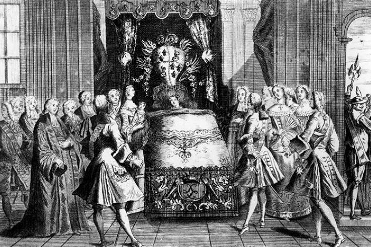 Как вынашивали и рожали королевы: воздухом не дышать, зрителей пригласить