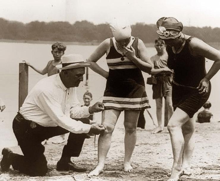 Измерение купальных костюмов