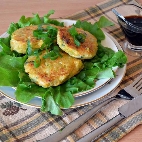 Рецепт овощных котлет