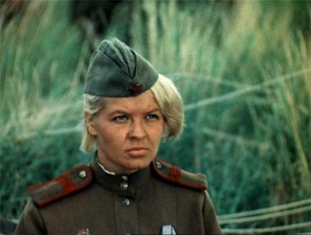 Женечка Земляникина, гвардии младший сержант, связист полка