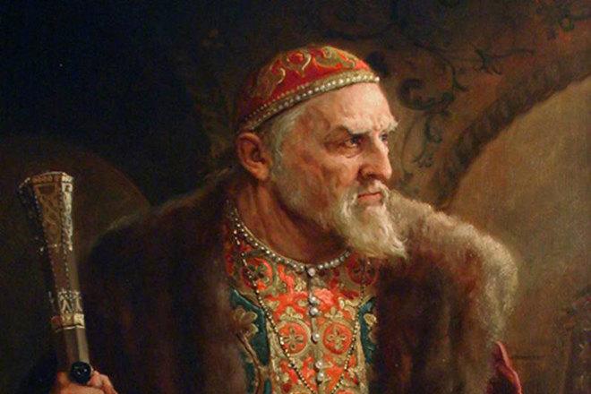 Царь Иван Грозный, сын Елены Глинской
