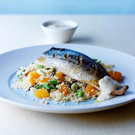 Рецепт рыбы скускусом