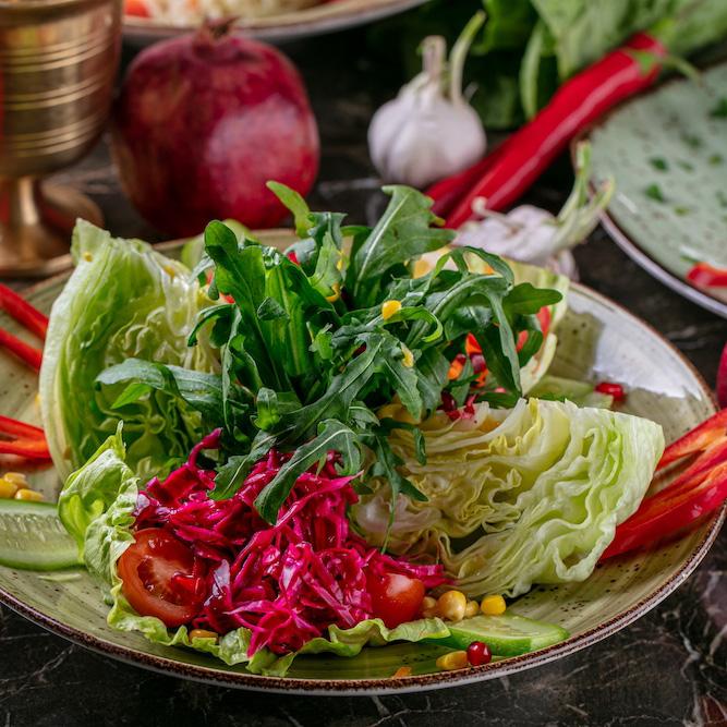 Рецепт салата смаринованной капустой по‑турецки