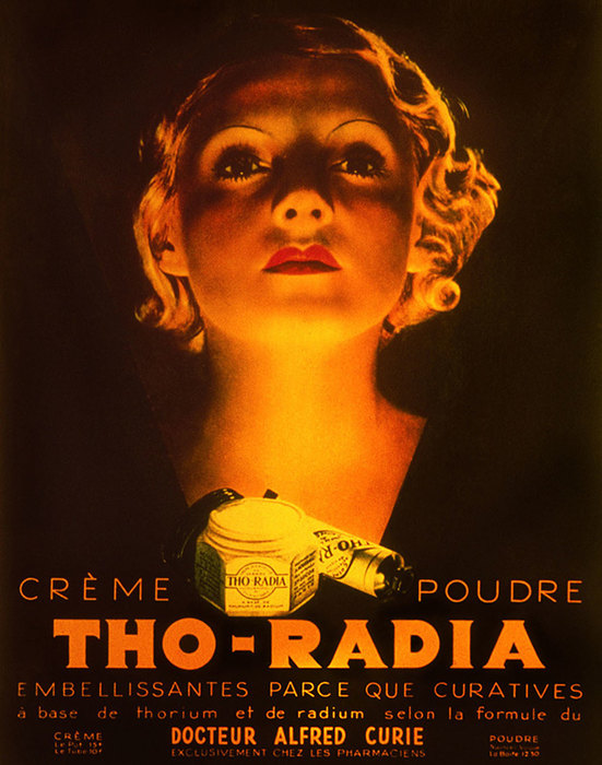 реклама косметики Tho-radia