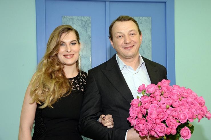 Марат Башаров сженой