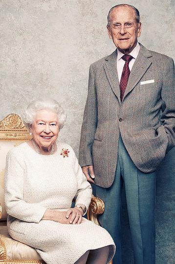 Принц Филипп иЕлизавета II