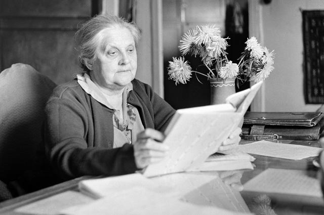 Валерия Дмитриевна, жена писателя Михаила Пришвина