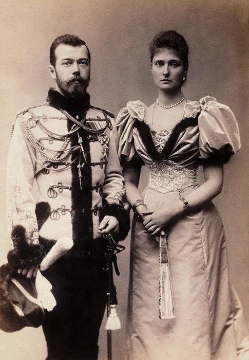 Николай II иАлександра Федоровна