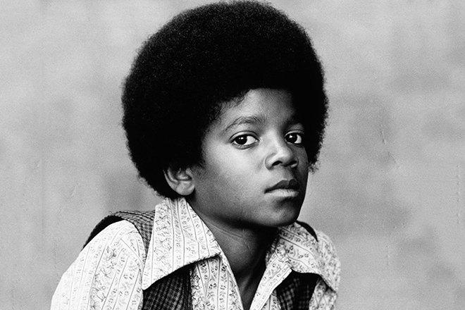 Майкл Джексон вдетстве