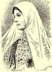 Современное компьютерное изображение (прижизненных портретов Тахире несуществует)