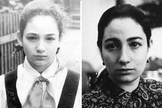Людмила Улицкая вдетстве имолодости