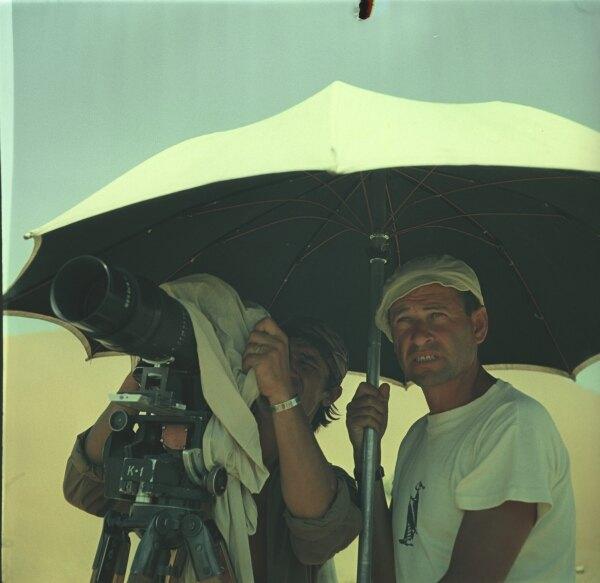 Кадр изфильма «Белое солнце пустыни» (1970).