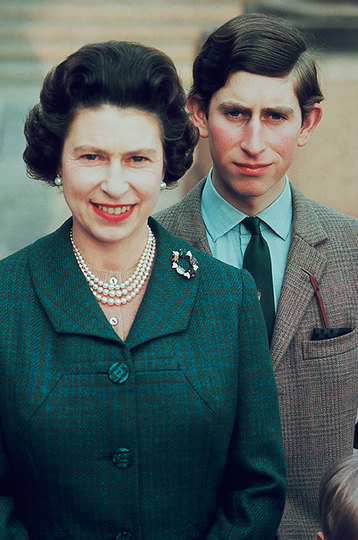 Принц Чарльз иЕлизавета II