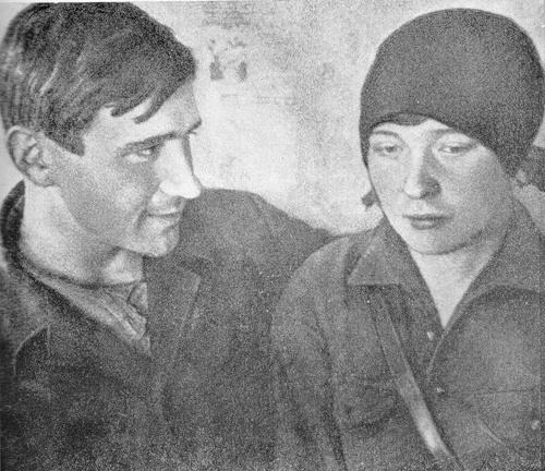 Ольга Берггольц иНиколай Молчанов