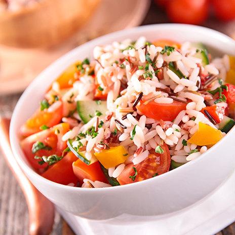 Рецепт рисового салата