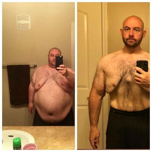 Парень похудел на 100 кг