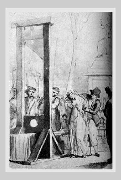 казнь Олимпии де Гуж
