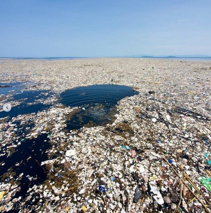 мусорные острова фото