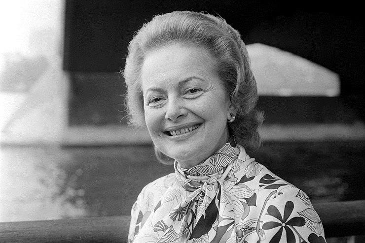 Оливия де Хэвилленд в1971 году