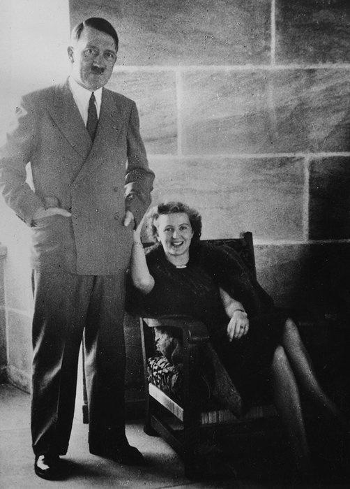 Адольф Гитлер иЕва Браун