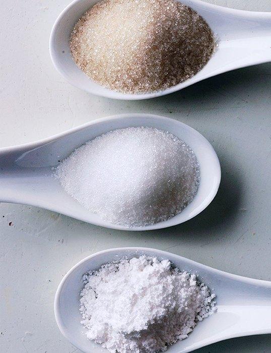 соль, сахар исода