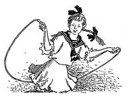 Иллюстрация изкниги орыжей девочке