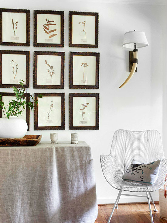20 стильных идей для оформления пустой стены