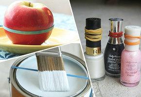 10 неожиданных способов использования хозяйственных резинок