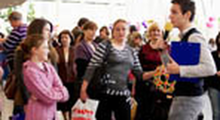 Домашний Очаг поздравил женщин с8 марта