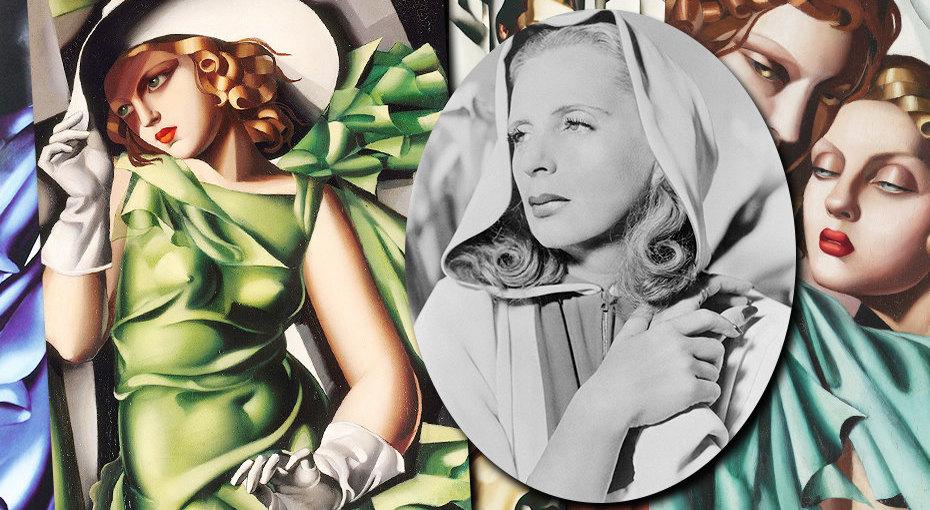 Тамара Лемпицка: легенда эпохи джаза, художница-миллионерша