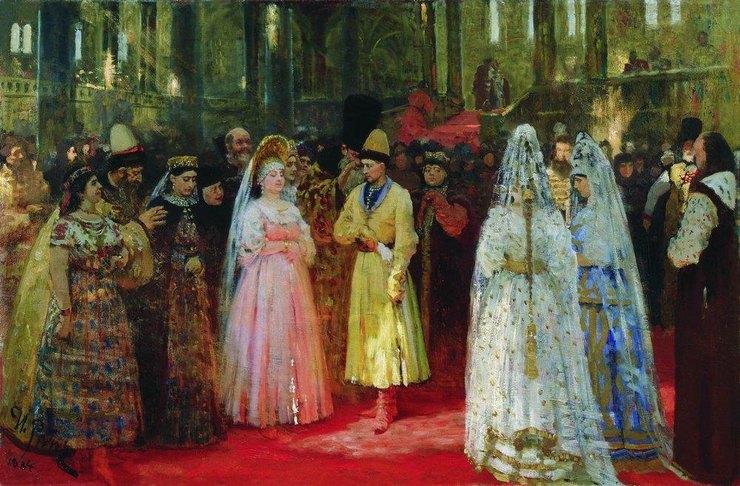И. Е. Репин, «Выбор великокняжеской невесты»
