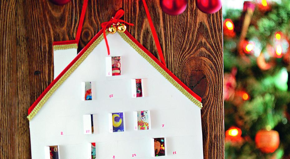Новогодний календарь своими руками