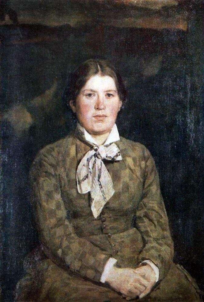 Александра Рязанцева, портрет Виктора Васнецова