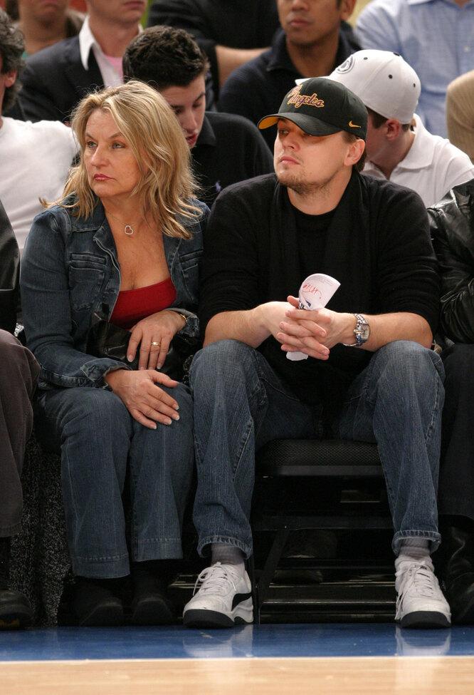 2004 На матче баскетбольной команды Knicks.