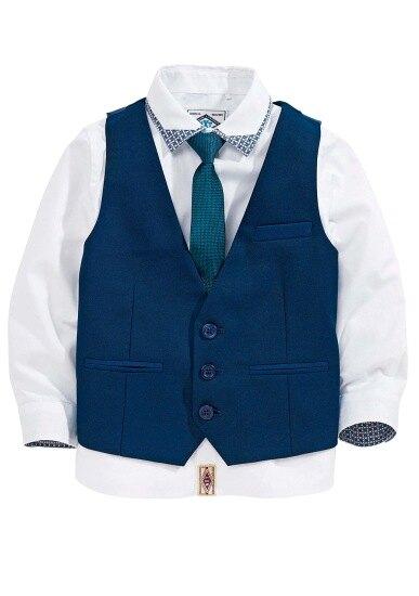 Рубашка, жилет, галстук Next