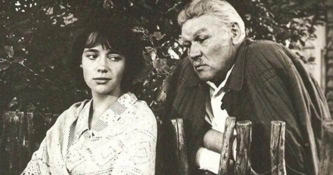Елена Санаева с отцом, Всеволодом Санаевым