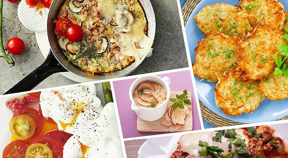 5 диетических исытных завтраков безглютена