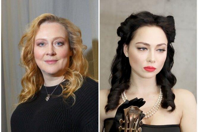 «Как я вам сморщинами?» Настасья Самбурская, Юлия Ауг идругие российские звезды поиграли сновым приложением