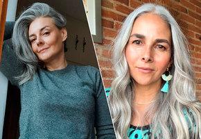 «Как я полюбила свою седину». Аргументы против окрашивания волос